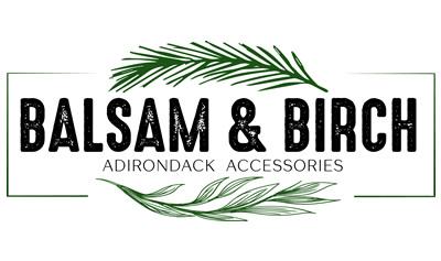 Balsam & Birch Adirondack Accessories Logo