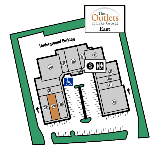 Outlets of Lake George Store 29