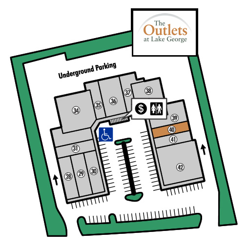 Outlets of Lake George Store 40