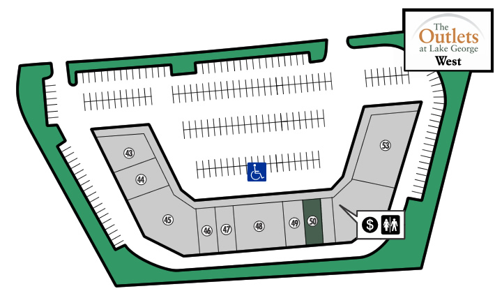 Outlets of Lake George West Store 50