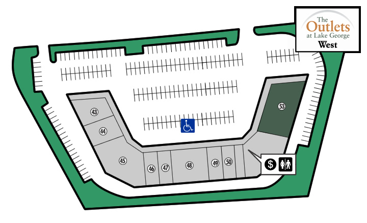 Outlets of Lake George West Store 53